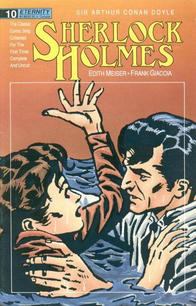 Cover for Sherlock Holmes (Malibu, 1988 series) #10