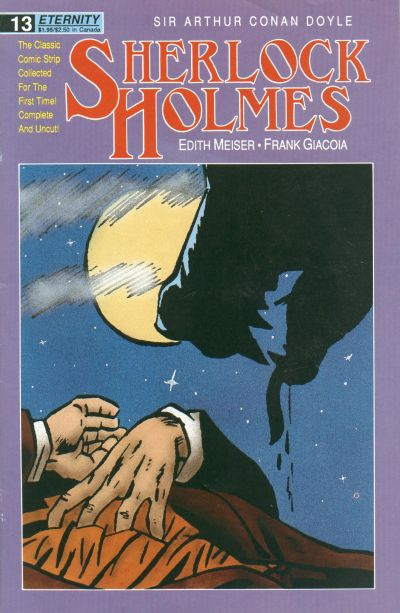 Cover for Sherlock Holmes (Malibu, 1988 series) #13