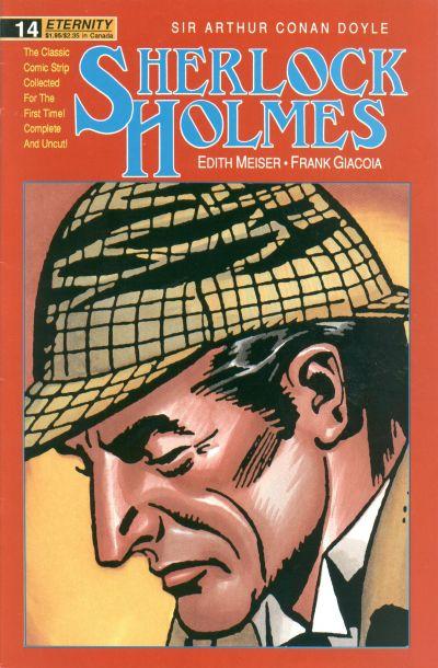 Cover for Sherlock Holmes (Malibu, 1988 series) #14