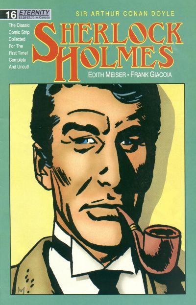 Cover for Sherlock Holmes (Malibu, 1988 series) #16