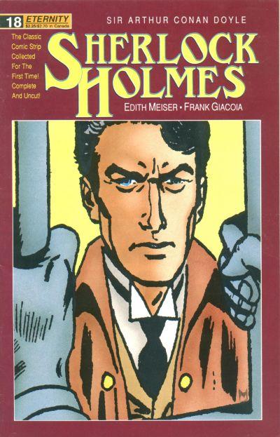 Cover for Sherlock Holmes (Malibu, 1988 series) #18