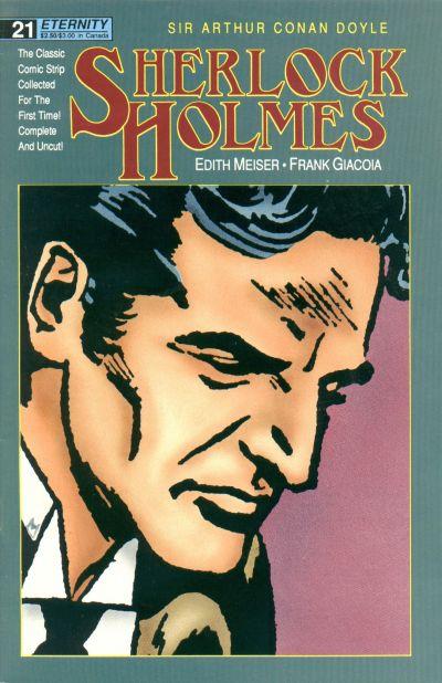 Cover for Sherlock Holmes (Malibu, 1988 series) #21