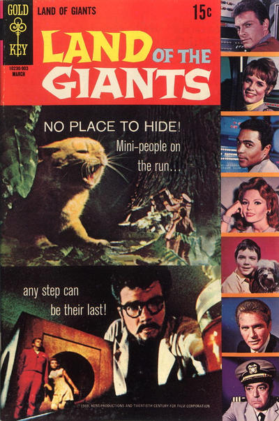 Cover for Land of the Giants (Western, 1968 series) #3