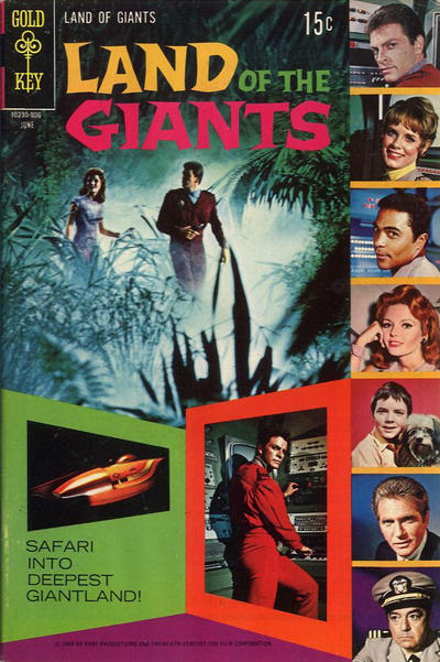 Cover for Land of the Giants (Western, 1968 series) #4