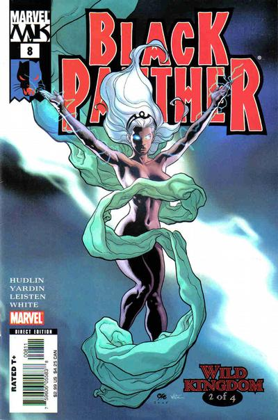 Cover for Black Panther (Marvel, 2005 series) #8 [2nd Print Variant]