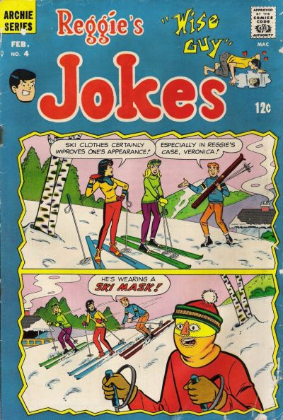 Cover for Reggie's Wise Guy Jokes (Archie, 1968 series) #4