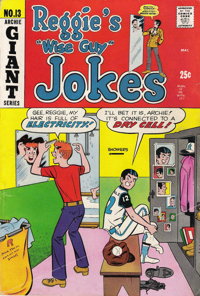 Cover for Reggie's Wise Guy Jokes (Archie, 1968 series) #13