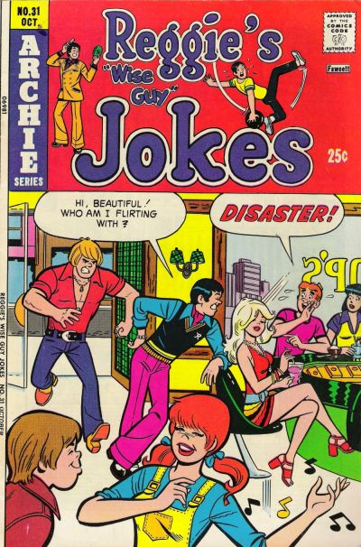Cover for Reggie's Wise Guy Jokes (Archie, 1968 series) #31