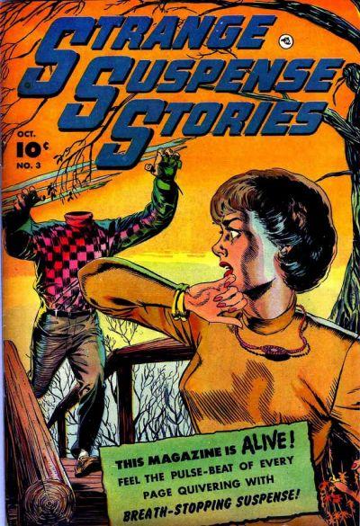 Cover for Strange Suspense Stories (Fawcett, 1952 series) #3