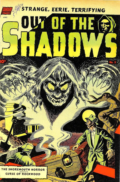 Cover for Out of the Shadows (Pines, 1952 series) #5