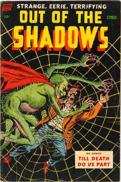 Cover for Out of the Shadows (Pines, 1952 series) #10