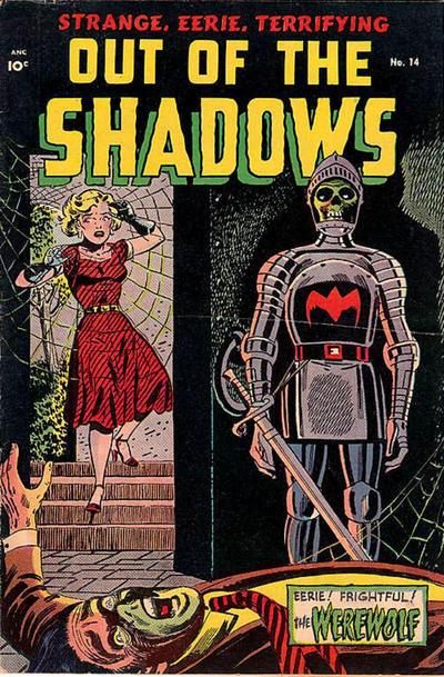 Cover for Out of the Shadows (Pines, 1952 series) #14