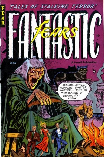 Cover for Fantastic Fears (Farrell, 1953 series) #7 [1]
