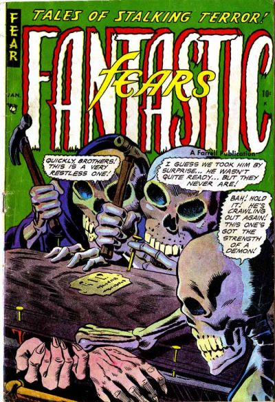 Cover for Fantastic Fears (Farrell, 1953 series) #5