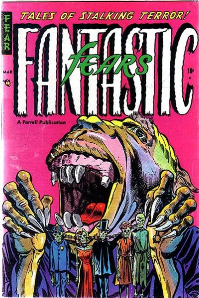 Cover for Fantastic Fears (Farrell, 1953 series) #6