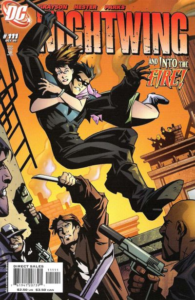 Cover for Nightwing (DC, 1996 series) #111