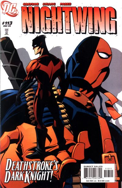 Cover for Nightwing (DC, 1996 series) #113 [Newsstand]