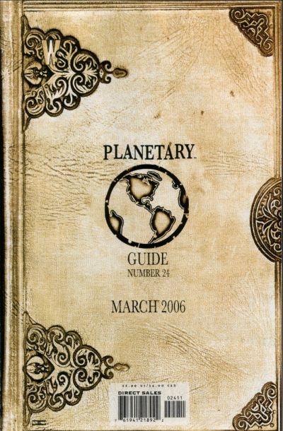 Cover for Planetary (DC, 1999 series) #24