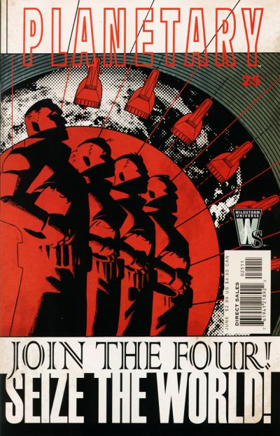 Cover for Planetary (DC, 1999 series) #25