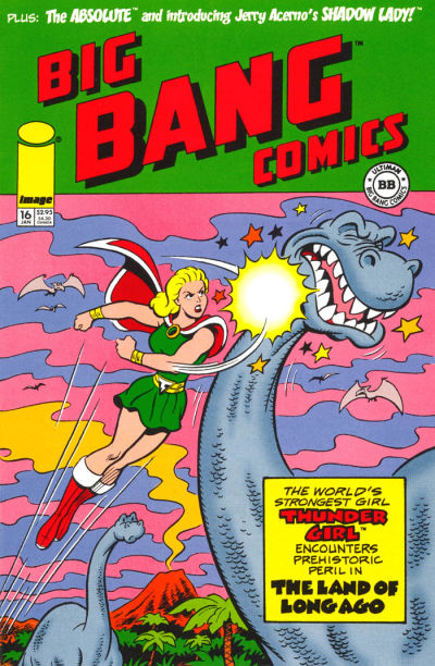 Cover for Big Bang Comics (Image, 1996 series) #16