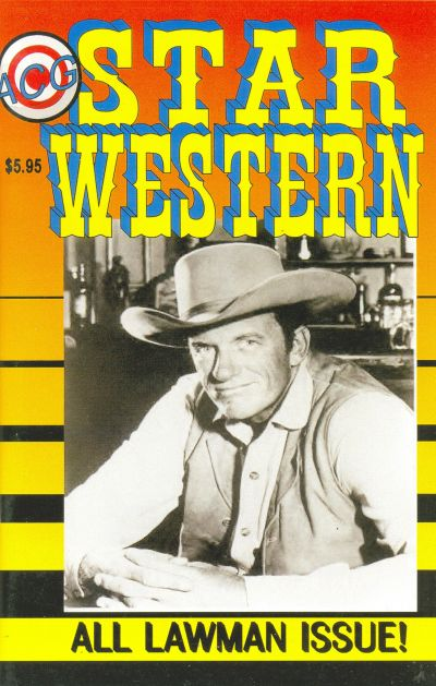 Cover for Star Western (Avalon Communications, 2000 series) #8