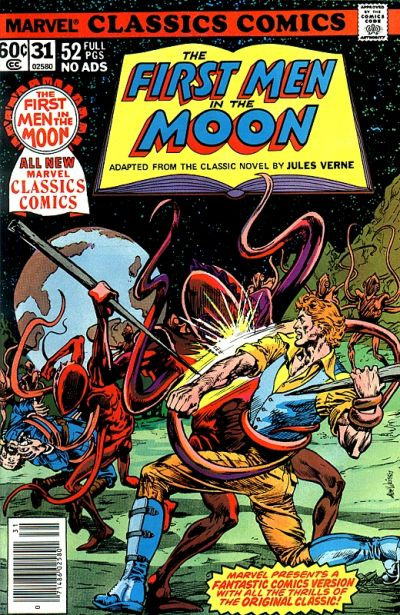 Cover for Marvel Classics Comics (Marvel, 1976 series) #31 - The First Men In The Moon