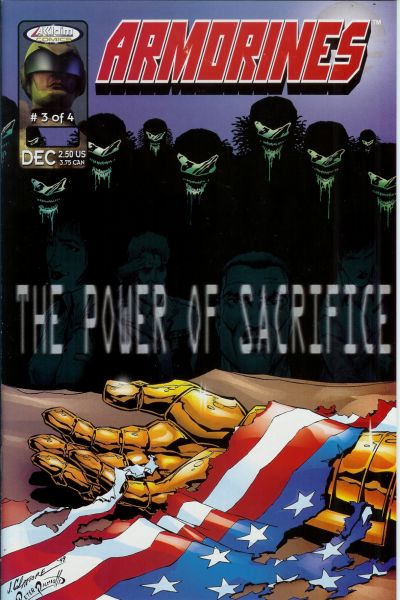 Cover for Armorines (Acclaim / Valiant, 1999 series) #3