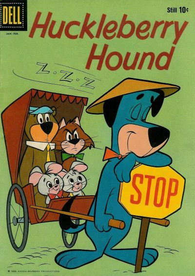Cover for Huckleberry Hound (Dell, 1960 series) #3
