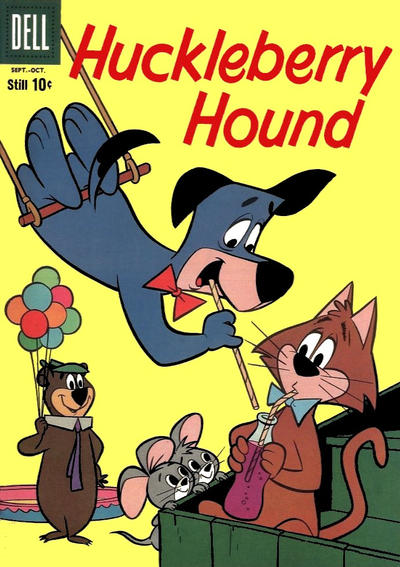 Cover for Huckleberry Hound (Dell, 1960 series) #7