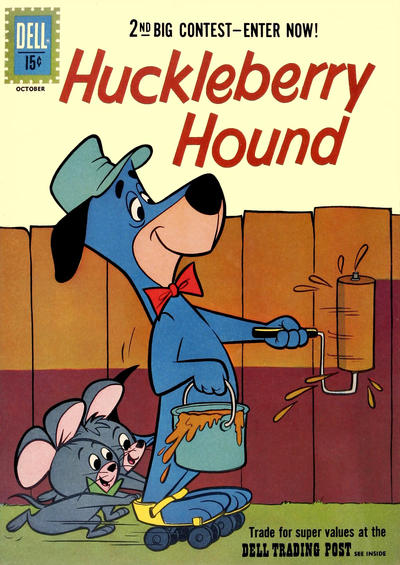 Cover for Huckleberry Hound (Dell, 1960 series) #13