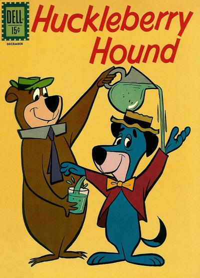 Cover for Huckleberry Hound (Dell, 1960 series) #14