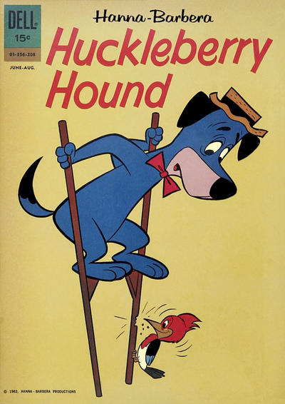 Cover for Huckleberry Hound (Dell, 1960 series) #17