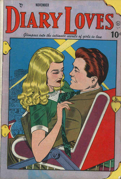 Cover for Diary Loves (Quality Comics, 1949 series) #2
