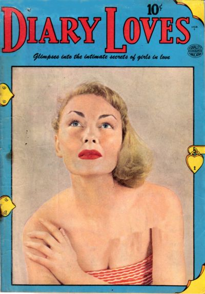 Cover for Diary Loves (Quality Comics, 1949 series) #3