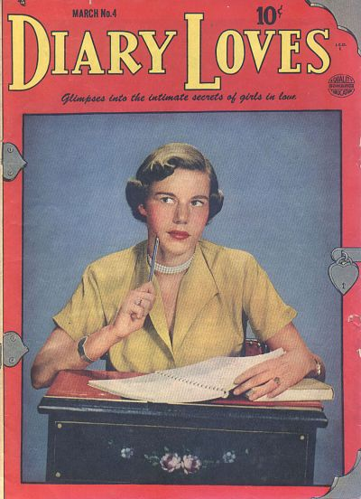 Cover for Diary Loves (Quality Comics, 1949 series) #4