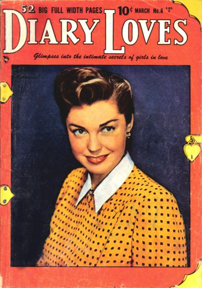 Cover for Diary Loves (Quality Comics, 1949 series) #8