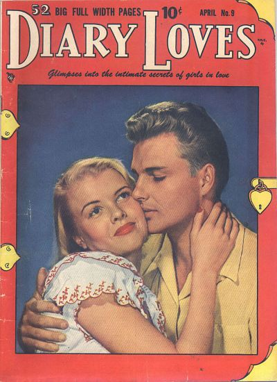 Cover for Diary Loves (Quality Comics, 1949 series) #9