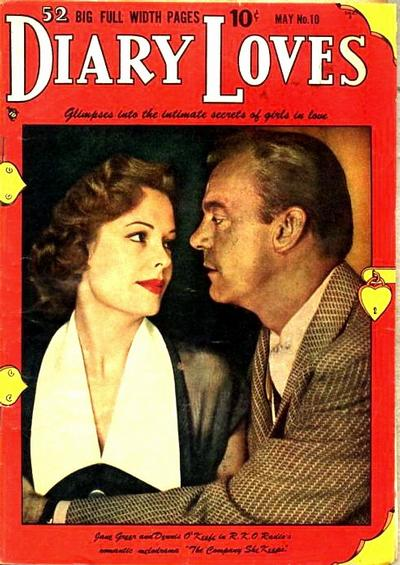 Cover for Diary Loves (Quality Comics, 1949 series) #10