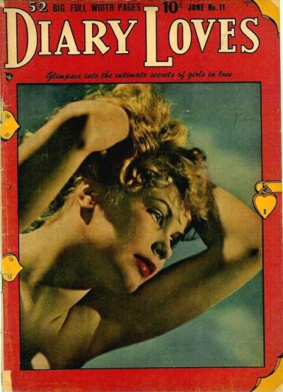 Cover for Diary Loves (Quality Comics, 1949 series) #11