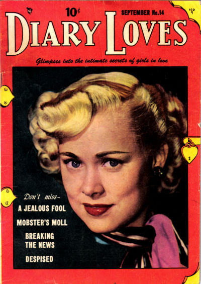 Cover for Diary Loves (Quality Comics, 1949 series) #14