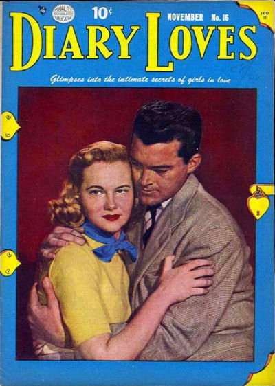 Cover for Diary Loves (Quality Comics, 1949 series) #16