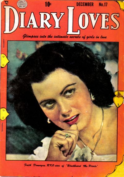 Cover for Diary Loves (Quality Comics, 1949 series) #17