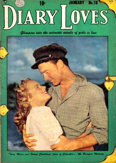Cover for Diary Loves (Quality Comics, 1949 series) #18