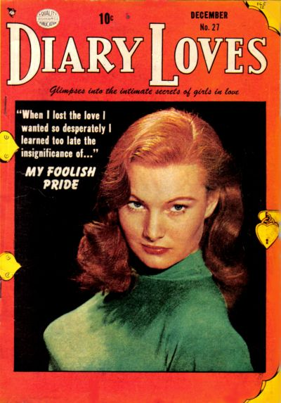 Cover for Diary Loves (Quality Comics, 1949 series) #27