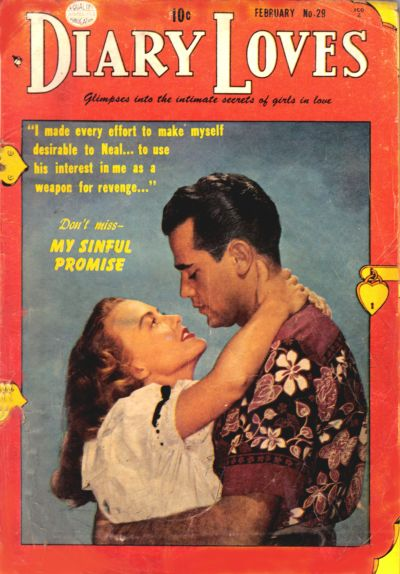 Cover for Diary Loves (Quality Comics, 1949 series) #29