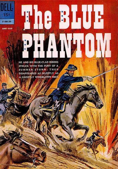 Cover for The Blue Phantom (Dell, 1962 series) #01-066-208 [1]