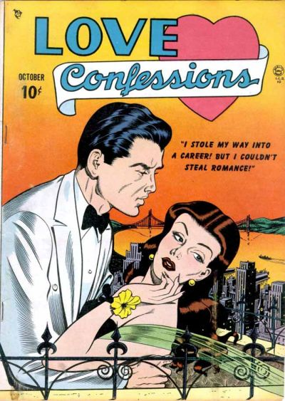 Cover for Love Confessions (Quality Comics, 1949 series) #1