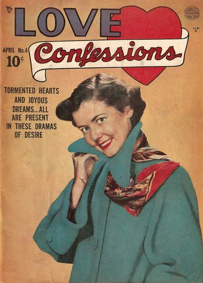 Cover for Love Confessions (Quality Comics, 1949 series) #4