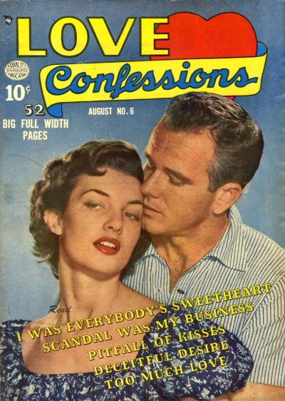 Cover for Love Confessions (Quality Comics, 1949 series) #6