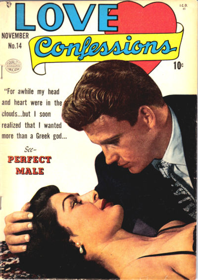 Cover for Love Confessions (Quality Comics, 1949 series) #14